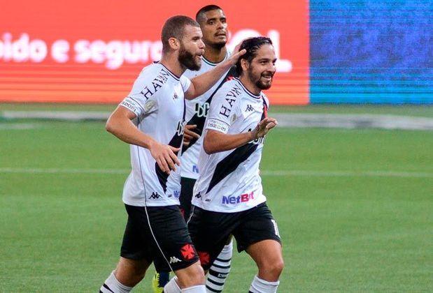 14º - Vasco: 14 pontos - três vitórias - cinco empates - nove derrotas - 16 gols feitos - 32 gols sofridos.