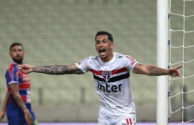 14/10/2020 - Fortaleza 3x3 São Paulo - jogo de ida das oitavas de final da Copa do Brasil