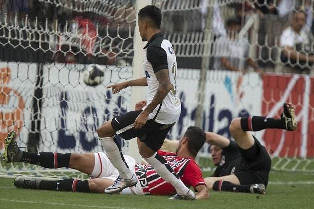 14/2/2016 - Corinthians 2 x 0 São Paulo - Fase de Grupos do Paulistão. Gols: Lucca e Yago (COR)
