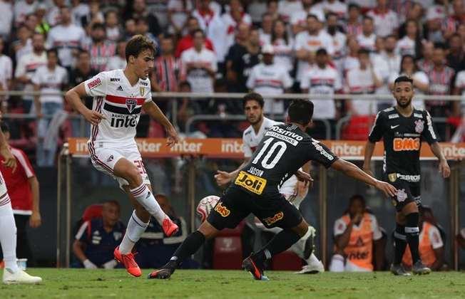 14/4/2019 - São Paulo 0x0 Corinthians - jogo de ida da final do Campeonato Paulista