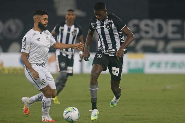 15º - Botafogo - 43,1% de aproveitamento - 17 jogos - 4 vitórias - 10 empates - 3 derrotas