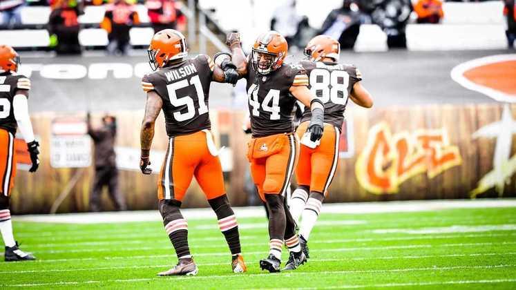 15º Cleveland Browns - A folga na semana 9 veio num momento perfeito para recuperar os lesionados e buscar uma arrancada rumo aos playoffs.