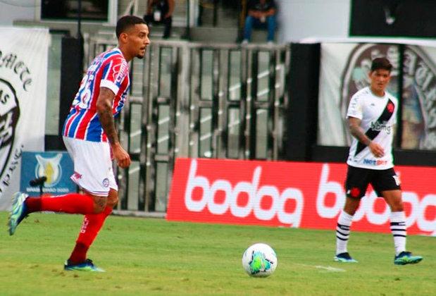 15º colocado – Bahia (36 pontos/33 jogos): 0.0% de chances de ser campeão; 0.0% de chances de Libertadores (G6); 16.3% de chances de rebaixamento.