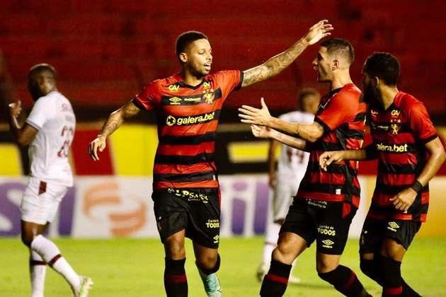 15º colocado – Sport (14 pontos) – 14 jogos / 0.045% de chances de título; 4.8% para vaga na Libertadores (G6); 27.6% de chances de rebaixamento.