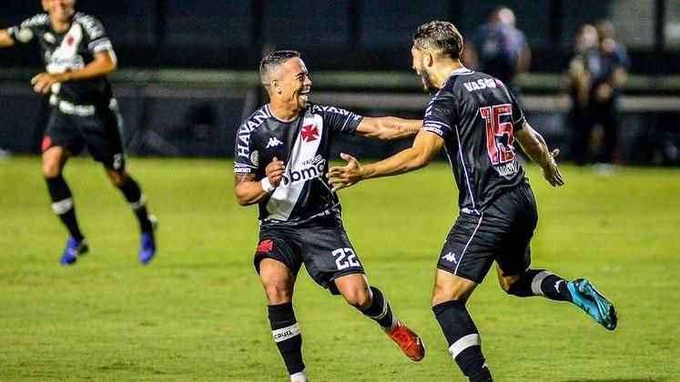 15º colocado – Vasco (32 pontos/28 jogos): 0% de chances de ser campeão; 0.050% de chances de Libertadores (G6); 14.5% de chances de rebaixamento.