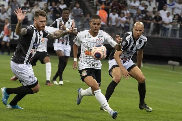 15) Corinthians 0 x 1 Inter de Limeira - Data: 9/2/2020 - Local: Arena Corinthians - Público pagante: 27.725 - Campeonato Paulista