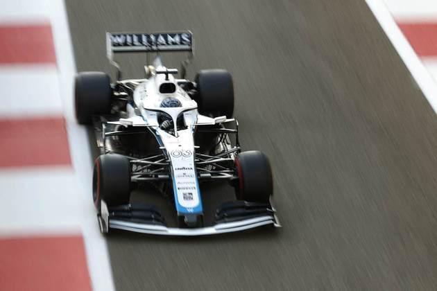 15 - George Russell (Williams) - 4.46 - Fez o que poderia com o carro ruim.