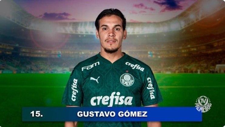 15 - Gustavo Gómez