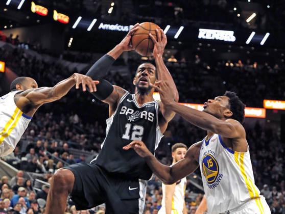 15 – LAMARCUS ALDRIDGE (56 PONTOS) – Em janeiro de 2019, o pivô estabeleceu a terceira maior marca da história do San Antonio Spurs ao fazer 56 pontos contra o Oklahoma City Thunder, sendo o primeiro jogador desde o armador Tony Parker a atingir ao menos 50 pontos em uma partida.