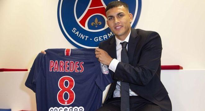 15º Leandro Paredes - Era jogador do Zenit, mas passou a defender o PSG em 2019 a custo de 40 milhões de euros (R$ 264 milhões)
