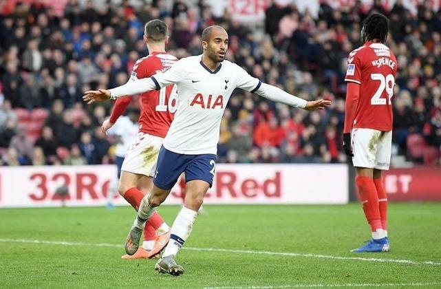 15) Lucas - Tottenham-ING - 44 jogos - 7 gols