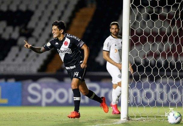 15º lugar - Vasco: R$ 99,4 milhões investidos em futebol em 2020 (variação de -23% com relação a 2019, quando os gastos com futebol foram de R$ 128,6 milhões)