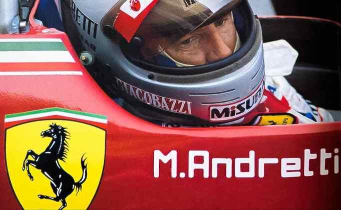 15 - Mario Andretti, 18 poles, a última delas com a Ferrari 162C2 no GP da Itália de 1982