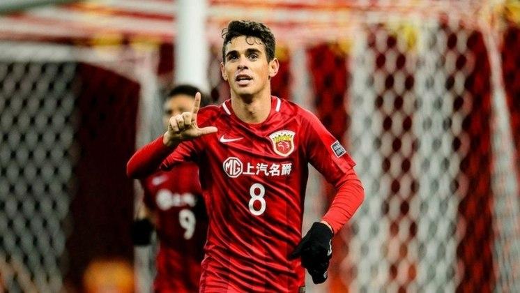 15 - Oscar (Shanghai SIPG-CHI): R$ 104,9 milhões anuais.
