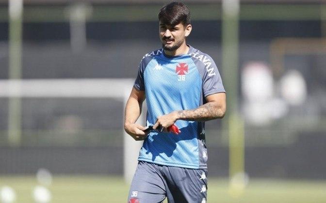 15º - Ricardo Graça - Time: Vasco - Posição: Zagueiro - Idade: 24 anos - Valor segundo o Transfermarkt: 1,2 milhão de euros (aproximadamente R$ 7,42 milhões)