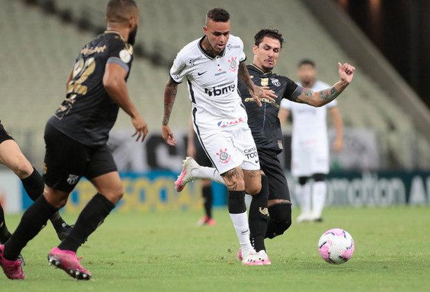 15ª Rodada - Ainda com Dyego Coelho, Corinthians perde para o Ceará por 2 a 1, cai para a 17ª posição (15 pontos) na tabela e entra pela primeira vez na zona de rebaixamento. Distância para o G6: 9 pontos.