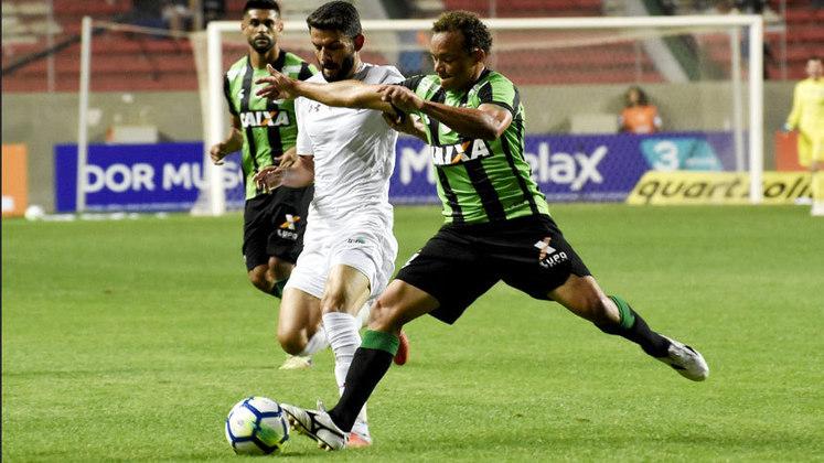 15ª rodada - América-MG x Fluminense - Em 2018, último ano do time mineiro na Série A, o Flu empatou a partida fora de casa e venceu no Maracanã.