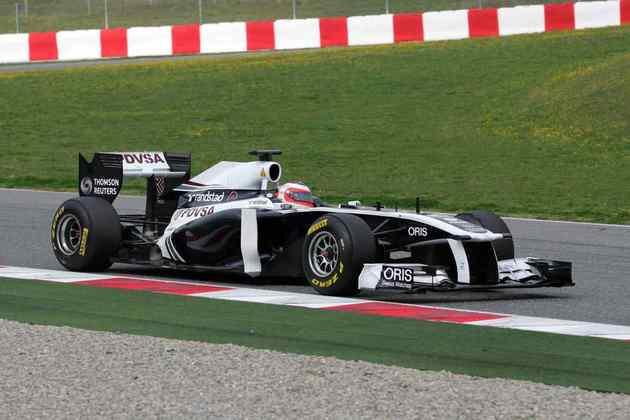 15º) Rubens Barrichello em seu ano final na F1. Depois, aventurou-se na Indy e agora está na Stock Car