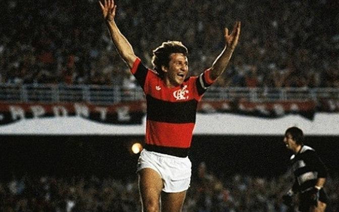 15/09/1976 - Flamengo 8 x 1 Sampaio Corrêa - Gols do Flamengo: Zico (3), Luisinho Lemos (2), Paulinho, Rondinelli e Marciano