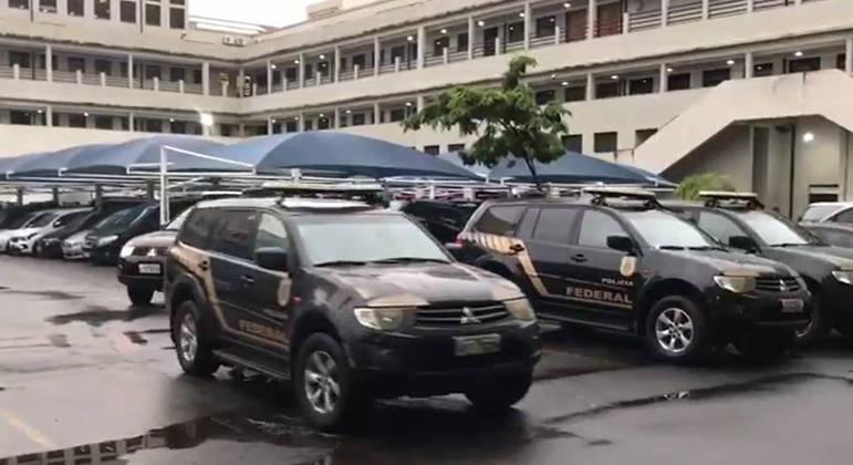 Viaturas da Polícia Federal