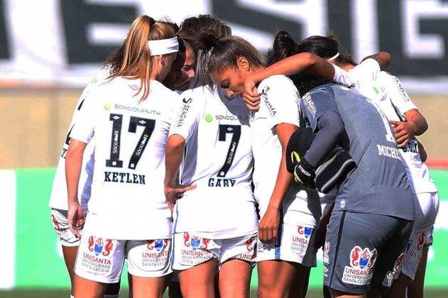 15h - Santos x Cruzeiro - Brasileirão Feminino - Onde assistir: elevensports.com