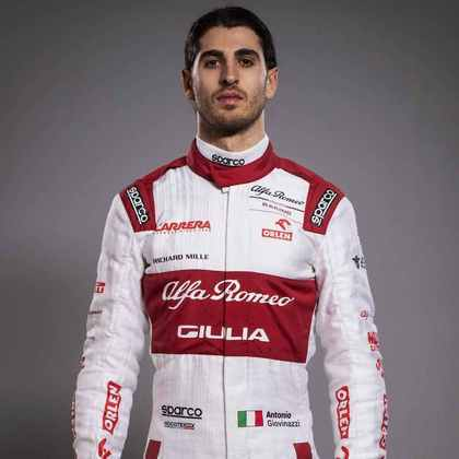 16º - Antonio Giovinazzi (Alfa Romeo) - 3 pontos - Melhor resultado: 9º no GP da Áustria