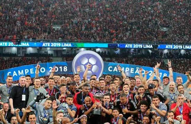 16° - Athletico-PR (1,3 milhão de torcedores) - Seis títulos: Uma Copa Sul-Americana (2018), uma Copa do Brasil (2019) e quatro estaduais (2016, 2018, 2019, 2020).