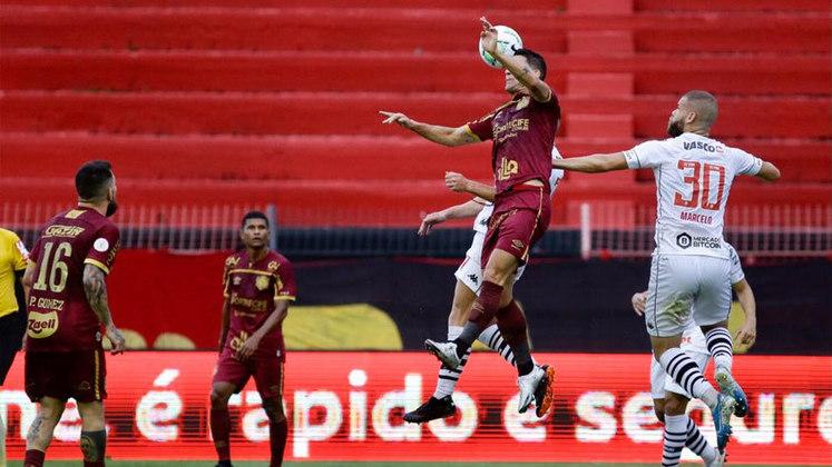 16º colocado – Sport (25 pontos) – 0,023% de chances de título; 2,7% para vaga na Libertadores (G6); 29,3% de chance de rebaixamento.