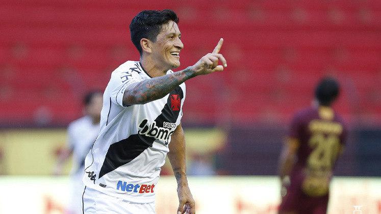16º colocado – Vasco (22 pontos) – 0.062% de chance de título; 4.3% para vaga na Libertadores (G6); 26.4% de chances de rebaixamento. (Com dois jogos a menos no Brasileirão)