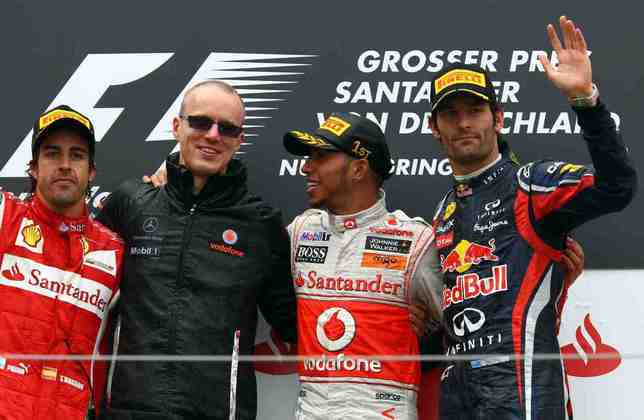 16 - Em Nürburgring, na temporada 2011, Hamilton venceu o GP da Alemanha. A pista vai marcar o recorde do britânico?