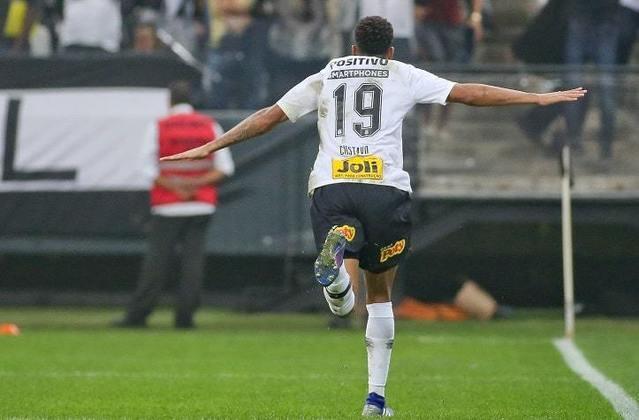 16) Gustagol - 1 gol - marcou o segundo gol da vitória por 2 a 1 na Fase de Grupos do Paulistão, em 17 de fevereiro de 2019.