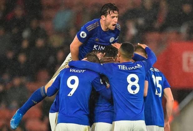 16º - Leicester City - Valor do elenco segundo o Transfermarkt: 549,1 milhões de euros (aproximadamente R$ 3,36 bilhões)