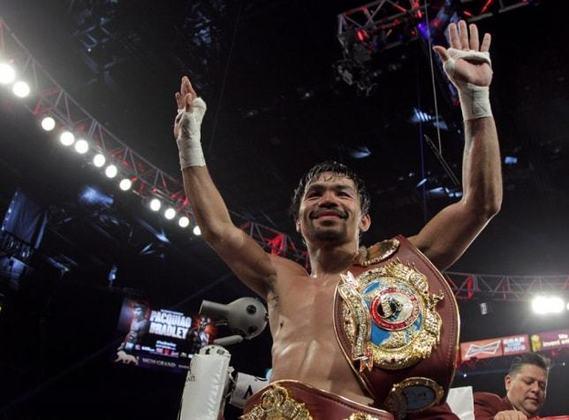 16) Manny Pacquiao (Filipinas) - Boxe