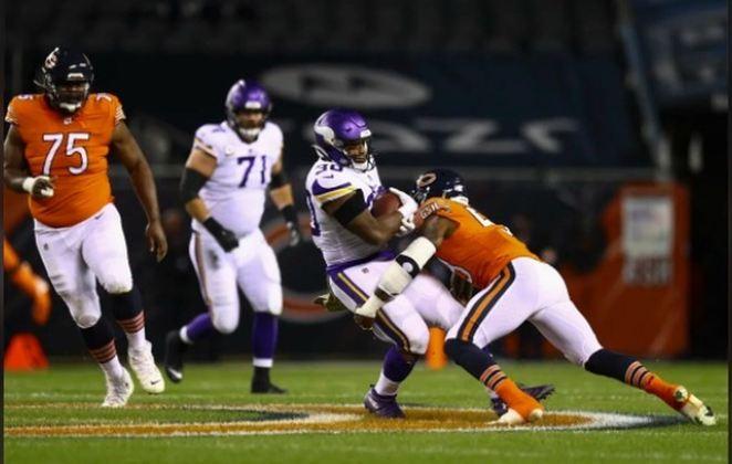 16° Minnesota Vikings - O ataque encaixou, o time cresceu e as vitórias reapareceram nas últimas semanas. O sonho de ir à pós-temporada permanece.