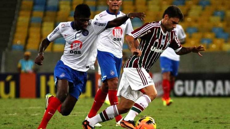 16. Rafael Sóbis, dois gols (um em 2012 e um em 2013)