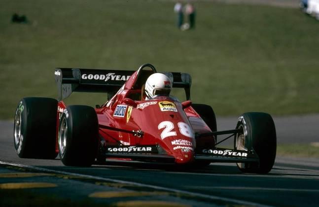 16 - René Arnoux, 18 poles, a última delas com a Ferrari 126C3 no GP da Inglaterra em 1983