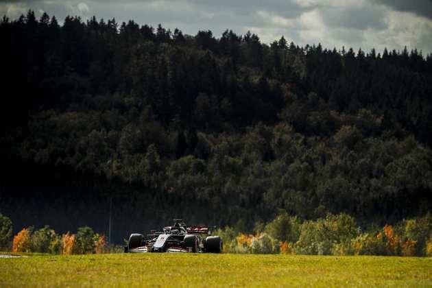 16º - Romain Grosjean (Haas) - 1min27s552