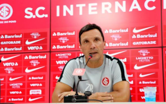 ZÉ RICARDO: O último trabalho de Zé Ricardo foi no Internacional, em 2019. Antes disso ele passou por Flamengo, Vasco, Botafogo e Fortaleza.