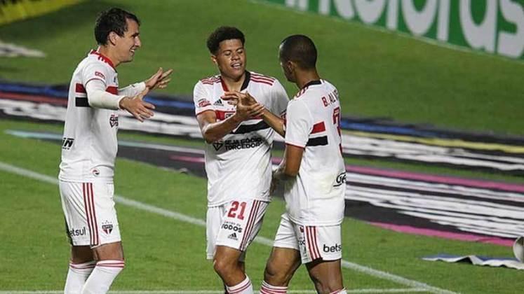 16/06 - 19h: Brasileirão 2021 - São Paulo x Chapecoense - Onde assistir: Premiere.