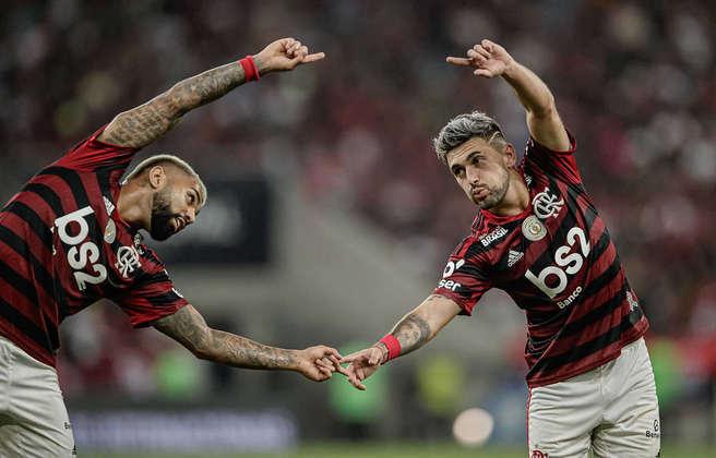 17º - 60.244 pagantes - Flamengo 3 x 1 Internacional - Brasileiro de 2019 (Maracanã) - Renda: R$ 2.810.435.