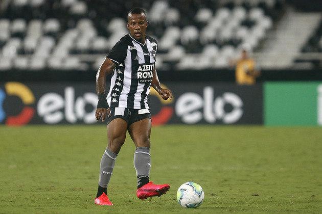 17º - Botafogo - 50% de aproveitamento - 12 jogos: 5 vitórias, 3 empates e 4 derrotas