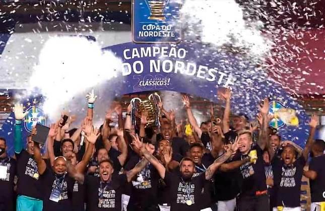 17° - Ceará (1,11 milhão de torcedores) - Oito títulos: Duas Copas do Nordeste (2015 e 2020), uma Taça Asa Branca (2016) e cinco estaduais (2012, 2013, 2014, 2017 e 2018).