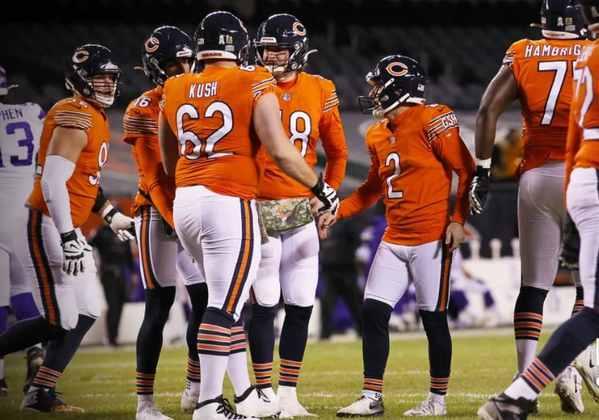 17º Chicago Bears - Semana de folga veio a calhar para tentar colocar o ataque nos eixos.
