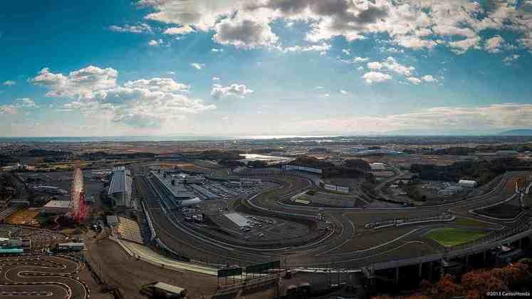 17 - GP do Japão - Suzuka - 10 de outubro.
