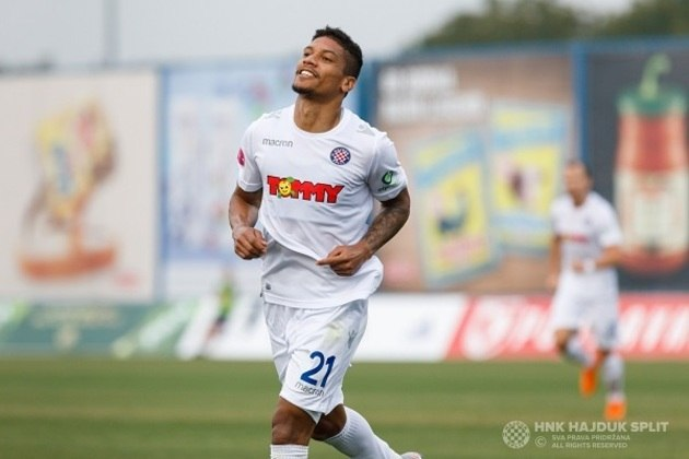 17º - Jairo de Macedo - Hajduk Split - Croácia - 9 gols na temporada - 9 gols no Campeonato Croata