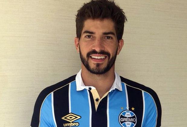 17 – Lucas Silva, do Grêmio, soma  1,5 milhão de seguidores.