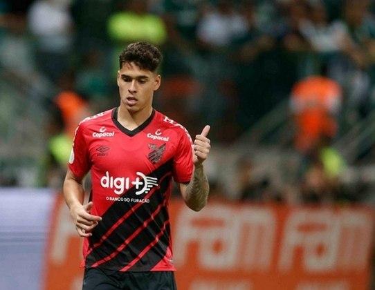 17º lugar: Lucas Halter - Athletico-PR - 21 anos - Zagueiro - Avaliado em: 4 milhões de euros (aproximadamente R$ 25,92 milhões)