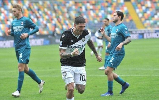17º lugar: Rodrigo de Paul - Meia - Argentina - Udinese (se transferindo para o Atlético de Madri - Valor: 38 milhões de euros (aproximadamente R$ 227,46 milhões)