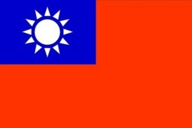 17º - lugar – Taiwan: 2 pontos (ouro: 0 / prata: 1 / bronze: 0)