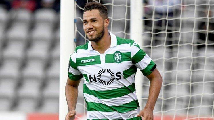 17º - Luiz Phellype - Sporting - Portugal - 9 gols na temporada - 6 gols no Campeonato Português, 2 gols na Europa League e 1 gol na Taça da Liga